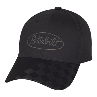 Checkered Bill Hat