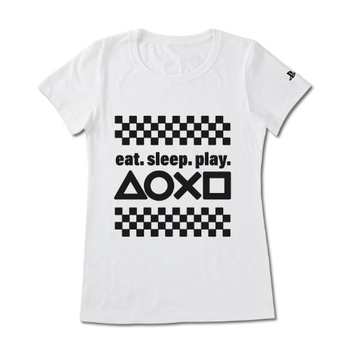 "Women's ""Eat. Sleep. Play."" Tee"