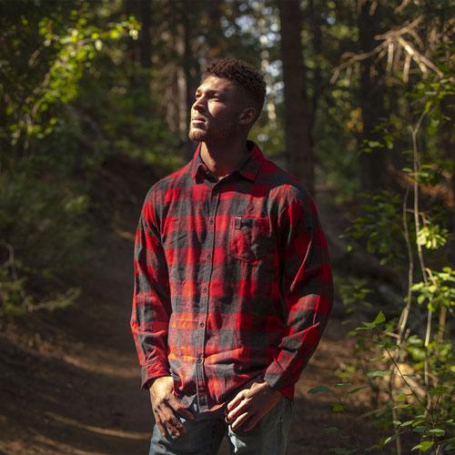 The Last of Us Part II Burnside Woven Plaid Flannel