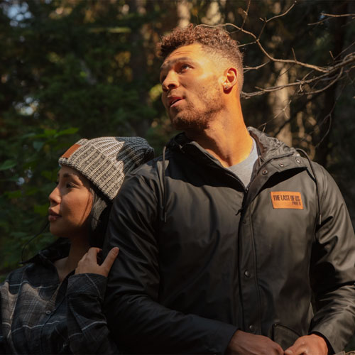 The Last of Us Part II Waterfall Insulated Rain Jacket