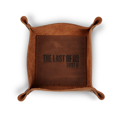 The Last of Us Part II Leather Valet Tray