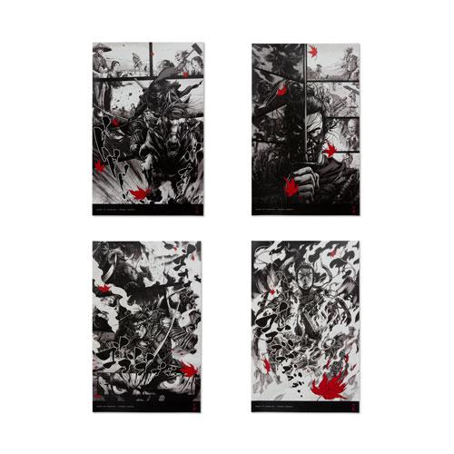 Ghost of Tsushima Takashi Okazaki Poster Collection