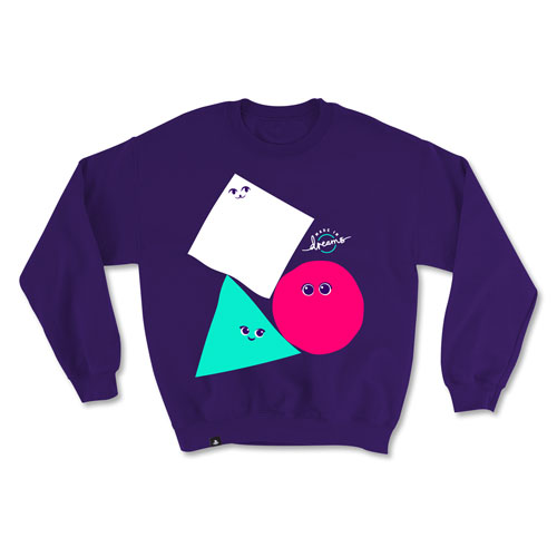 College Crewneck Sweatshirt