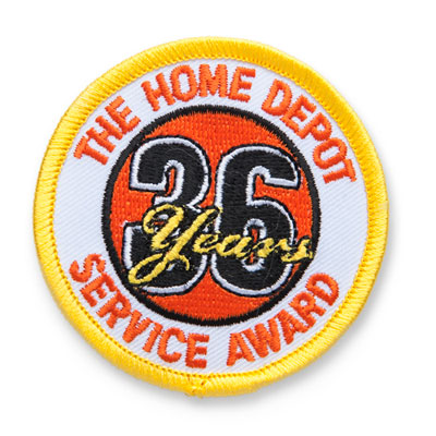 36 Years of Service Patch