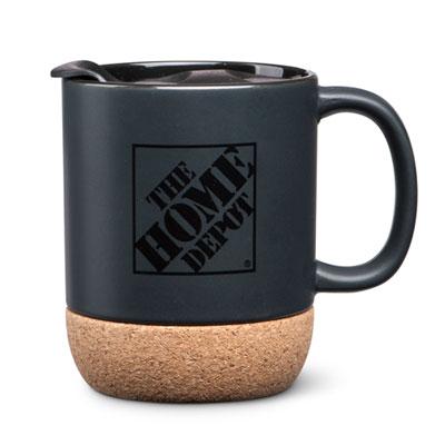 Cork-Base Ceramic Mug