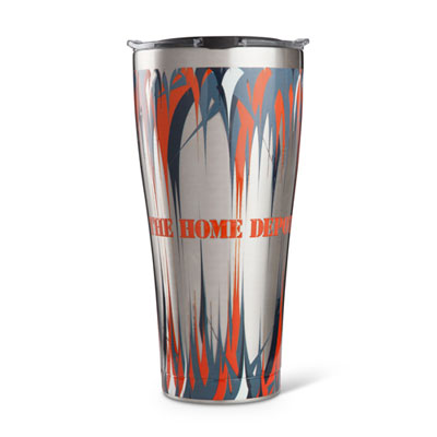 Stainless Steel Tervis Tumbler with Lid