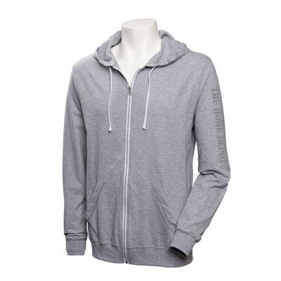 Lightweight SoftSpun Zippered Jersey Hoodie