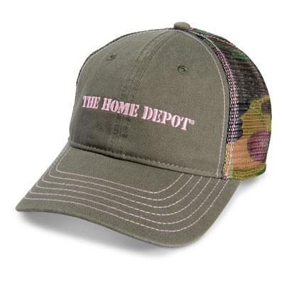 Ladies Camo Hat