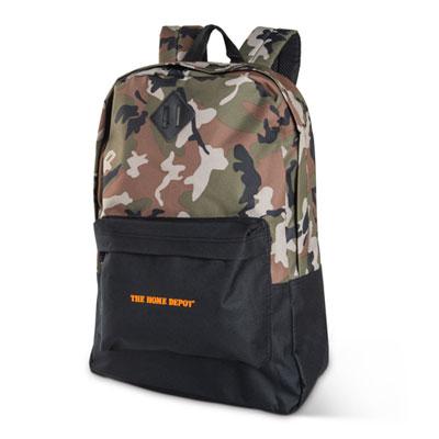 Retro Camo Backpack