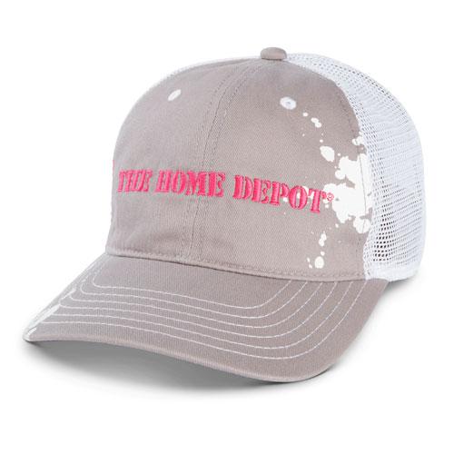 Ladies Paint Splatter Mesh Hat