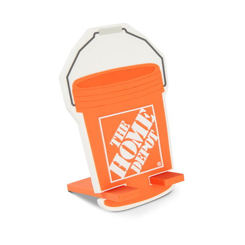 Bucket-Shaped Phone Stand