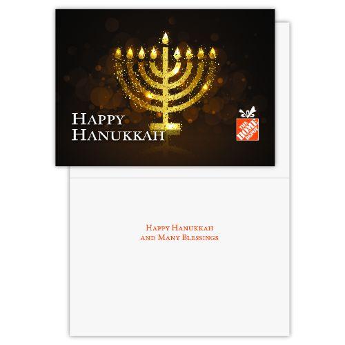 Happy Hanukkah Cards (Pack of 25)