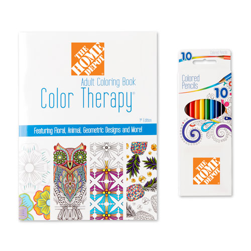 Color Therapy® Adult Coloring Pack