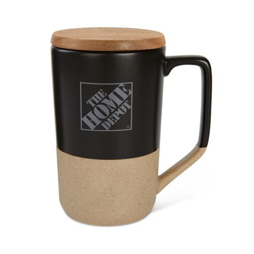 Tahoe Tea and Coffee Mug with Wood Lid