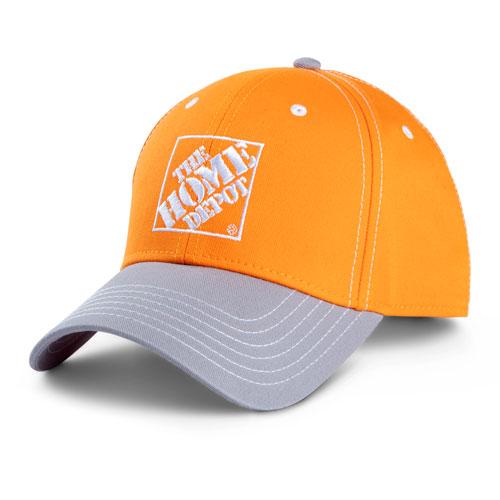 Contrast Visor Cap – Orange