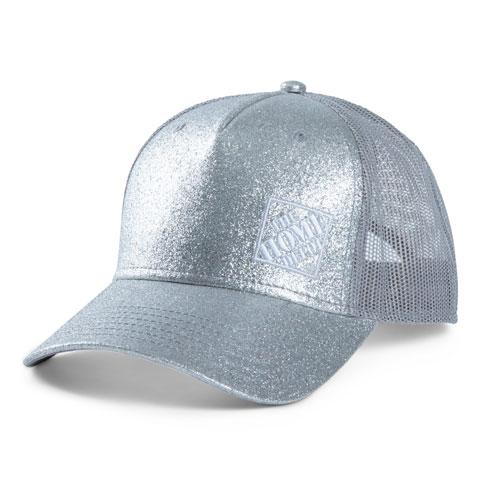 Ladies' Glitter Ponytail Cap