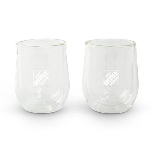 Corksicle Stemless Glasses (Set of 2)