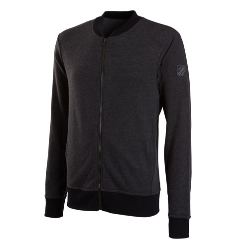 Lightweight French Terry Bomber Jacket