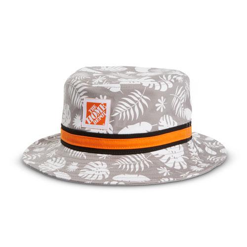Palm Frond Bucket Hat
