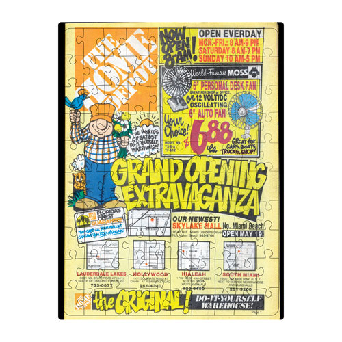 Throwback Grand Opening Extravaganza Puzzle