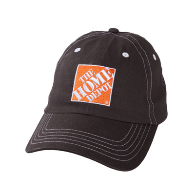 Brushed Charcoal Twill Cap