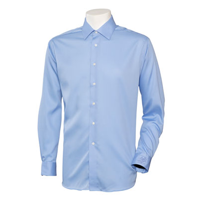 THD Mens Calvin Klein Non Iron Pincord Shirt Blue 3XL