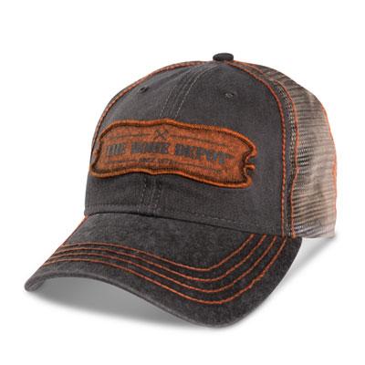 Mesh Hat with Laser-Cut Visor