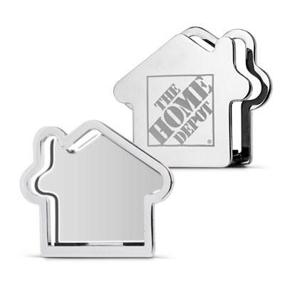 Metal House Card Holder