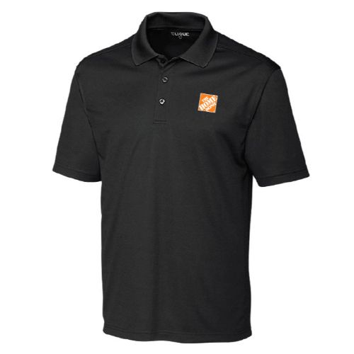 Spin-Dyed Performance Polo – Black